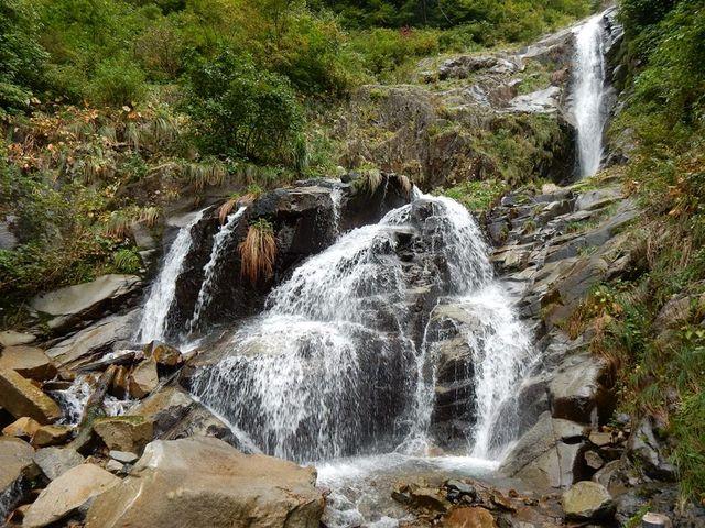 仏御前の滝 中段と上段_仏御前の滝