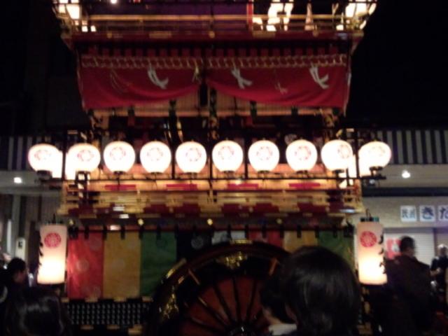宵祭りです_飛騨民族考古館