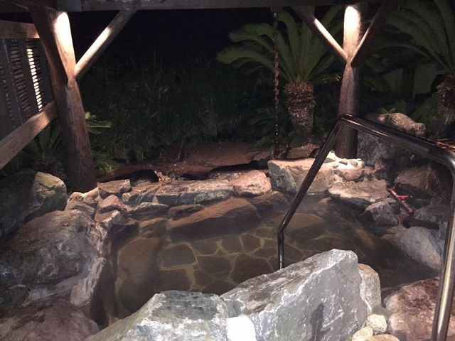 こちらは貸切温泉です。当日の予約はほぼ取れません。 今回は偶然空いてて入れました。_フェニックス・シーガイア・リゾート