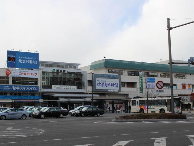 松本駅舎_JR松本駅