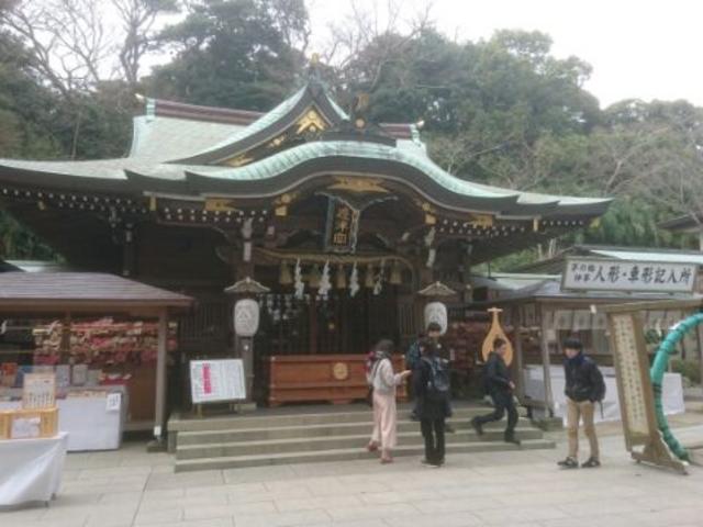 辺津宮_江島神社