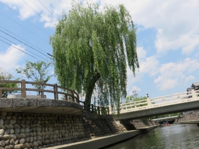 景色_水の都おおがきたらい舟