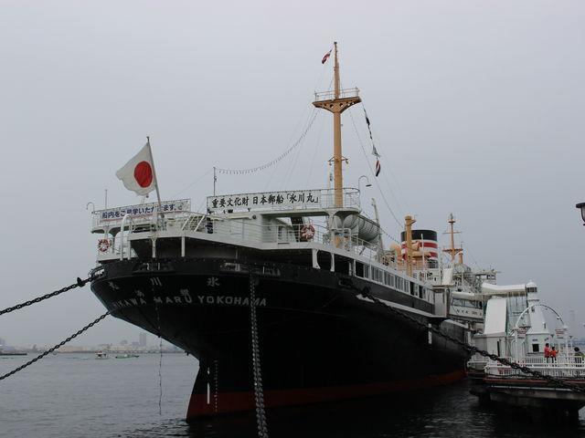 氷川丸外観_日本郵船氷川丸