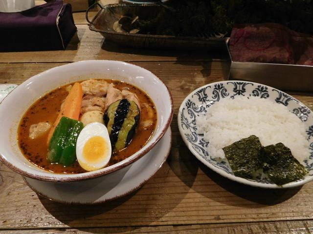 らっきょのスープカレー_札幌らっきょ 琴似店