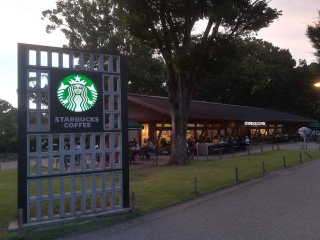 店外_スターバックス コーヒー 上野恩賜公園店