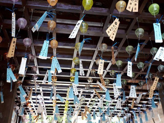 涼しそうな音が響き渡ります。_新潟総鎮守 白山神社