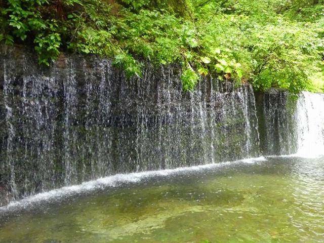長野県・軽井沢・白糸の滝_白糸の滝