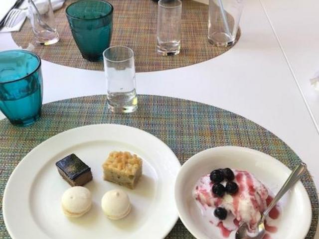 デザートとチョップアイスクリーム_ホテルグランヴィア広島