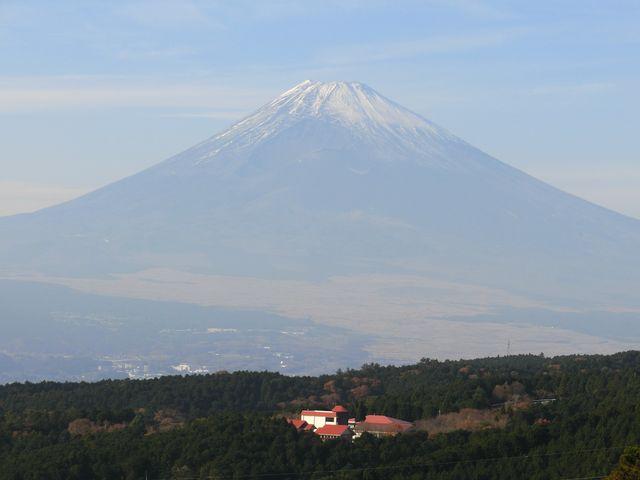 富士山もきれいに見えました_山中城跡公園