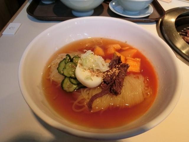 食道園の冷麺_食道園