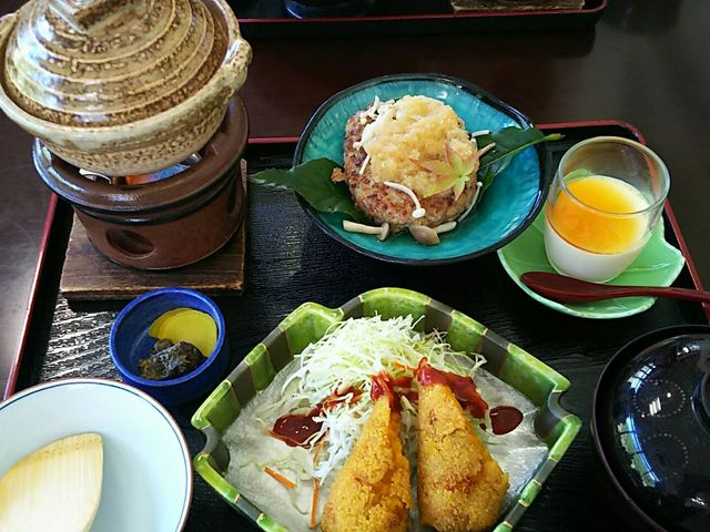 食べた昼食_月ヶ谷温泉 月の宿