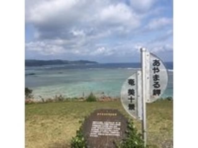 綺麗な海が一望_あやまる岬観光公園