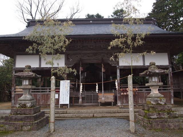 拝殿_浦嶋神社(宇良神社)