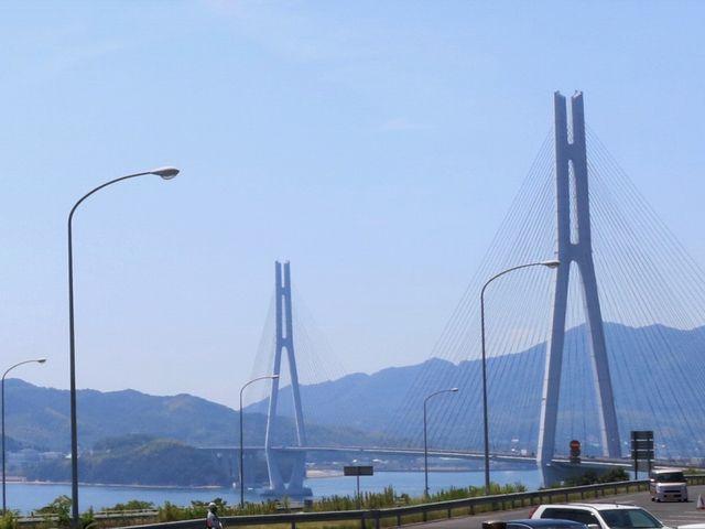 瀬戸田PAから見た多々羅大橋。_瀬戸田パーキングエリア(上り線)