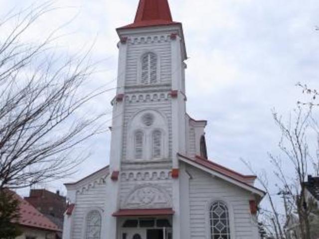 外観_鶴岡カトリック教会天主堂