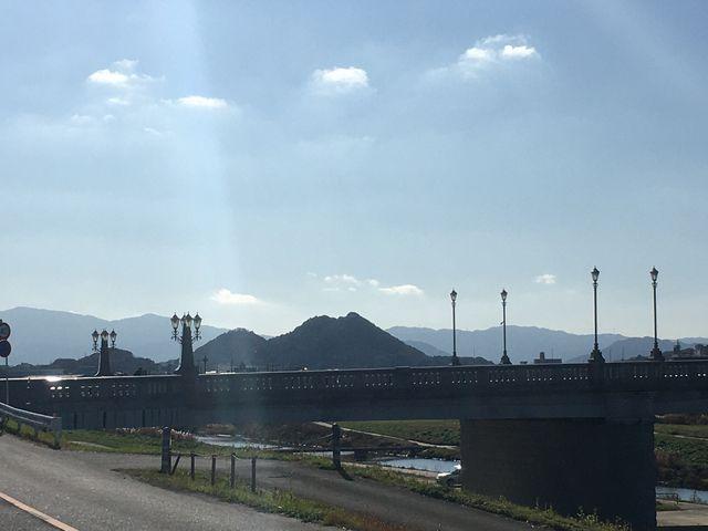 飯塚のボタ山 飯塚病院近くから_住友忠隈炭鉱のボタ山
