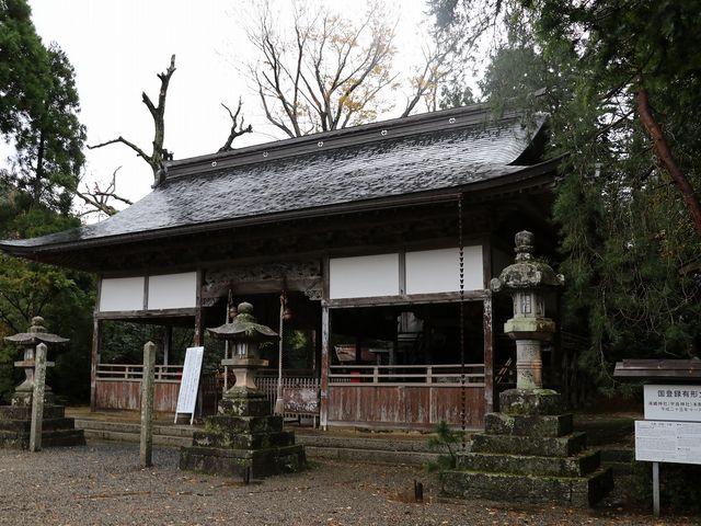 拝殿。_浦嶋神社(宇良神社)