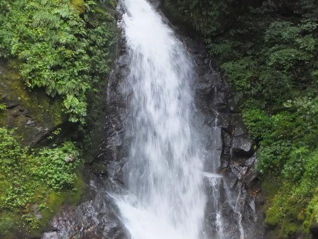 水量も豊かです。_一乗滝