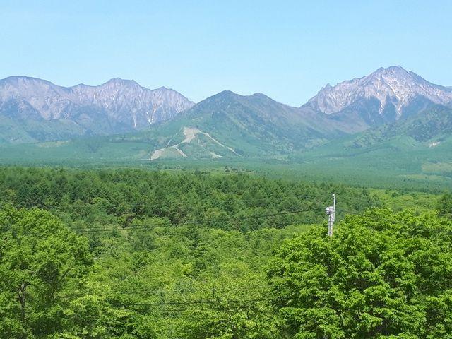 素晴らしい見晴らしです_八ヶ岳グレイスホテル