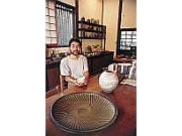 福村さんの作品は吉井の町の香りがする_日月窯