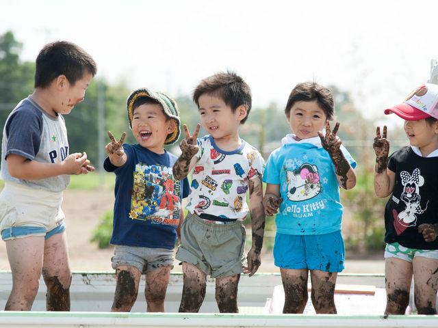 無農薬栽培の田植え体験だから泥だらけが楽しい♪提携宿泊施設の日帰り入浴付きプラン/宿泊体験がおススメ。4月中~5月末_田舎日記