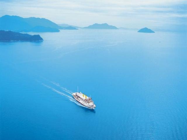 「銀河クルーズ」で瀬戸内海の多島美を満喫_広島ベイクルーズ銀河