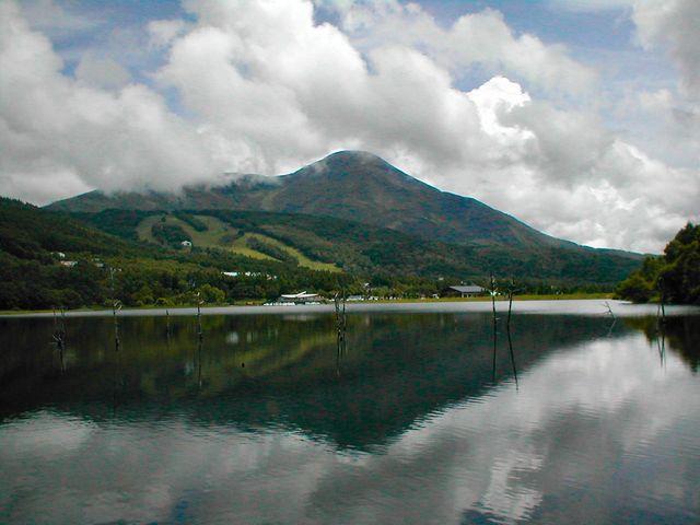 女神湖の景色は素晴らしい_女神湖