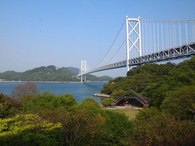 はっさく屋さんからの眺め_因島大橋