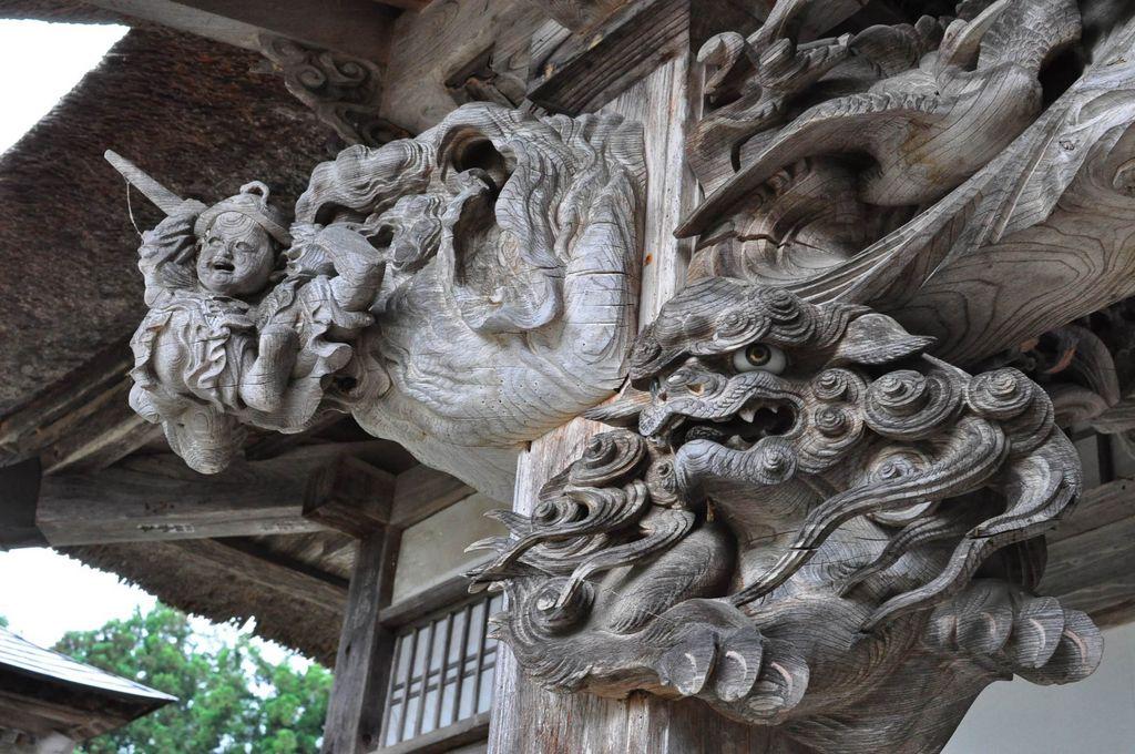 西福寺・開山堂「石川雲蝶の彫刻」