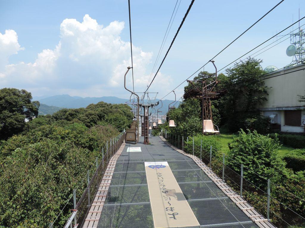 松山城山東雲登山口~長者ヶ平リフト