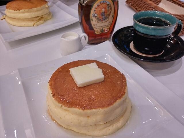 プレーンパンケーキ(素材の良さが味わえます)_大江ノ郷自然牧場~ココガーデン