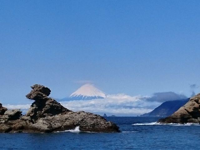春の絶景富士山_雲見・石部・岩地・松崎海岸