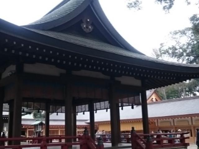 舞殿_武蔵一宮氷川神社