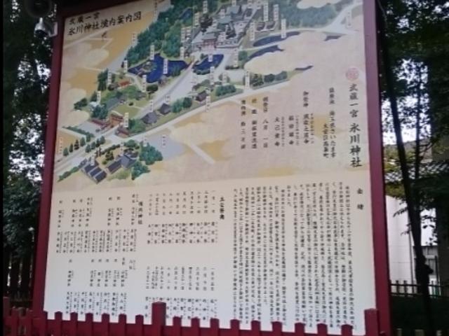境内の案内図_武蔵一宮氷川神社