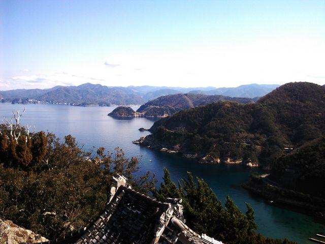山頂からの風景_雲見烏帽子山