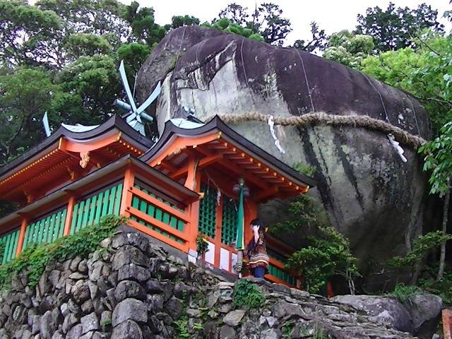 コトビキ岩_神倉神社