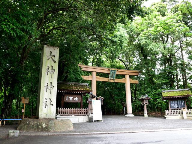 二の鳥居_大神神社