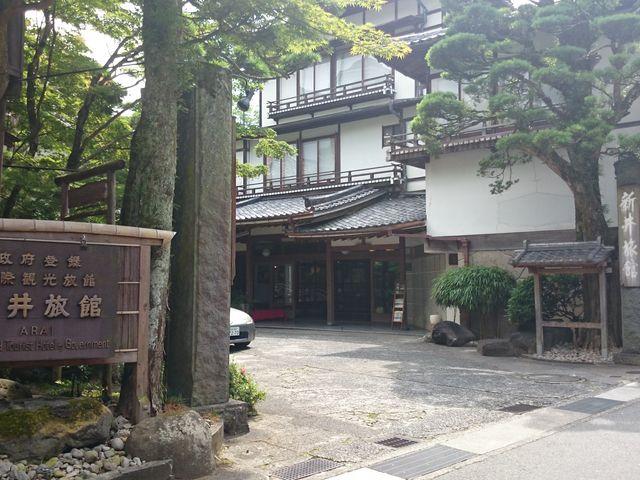 風情のある造りでした。_新井旅館