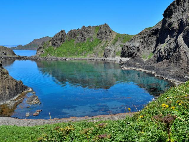 とにかく海がきれい。絶景!_澄海岬