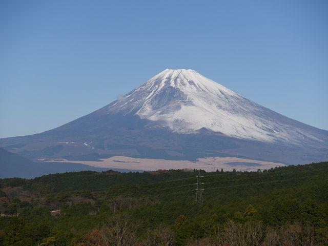 富士山もお出迎え・・・_三島スカイウォーク