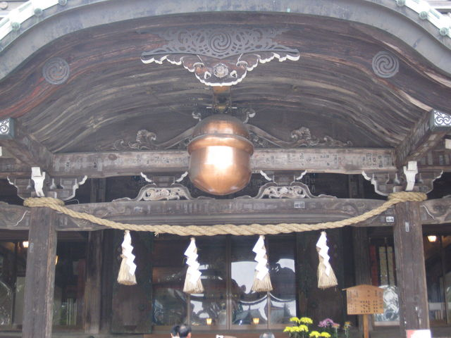 注連縄と紙垂_筑波山神社