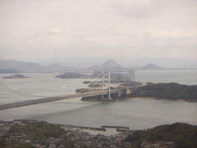 スカイサイクルからの眺め_ブラジリアンパーク鷲羽山ハイランド