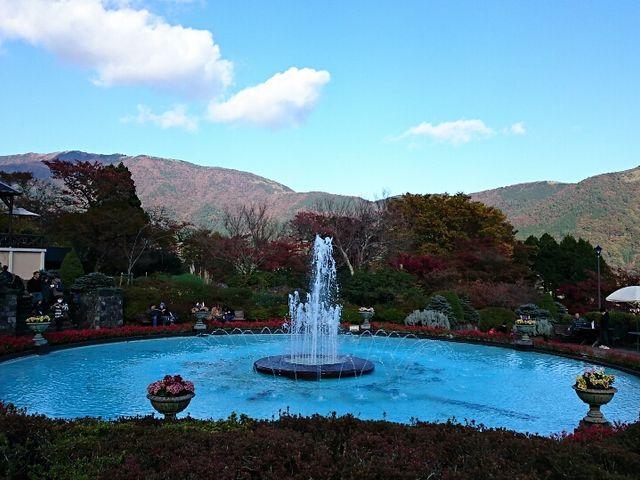 噴水_箱根強羅公園