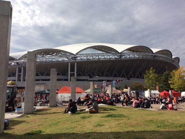スタジアム外部_新潟県スポーツ公園