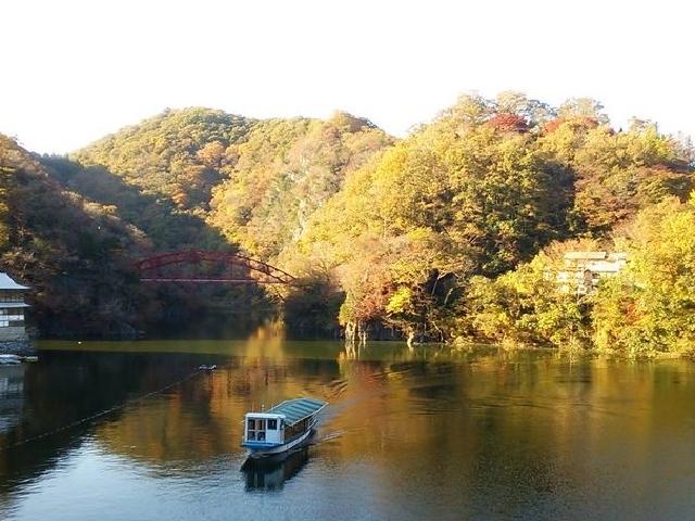 素晴らしい景観_帝釈峡遊覧船