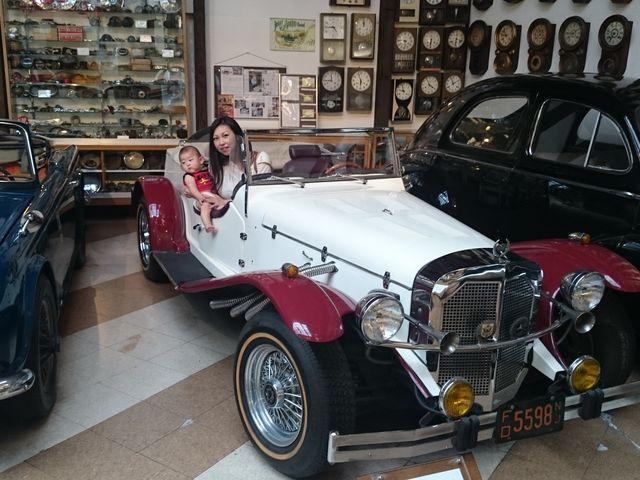 ルパン三世と同じ車らしいです_福山自動車時計博物館
