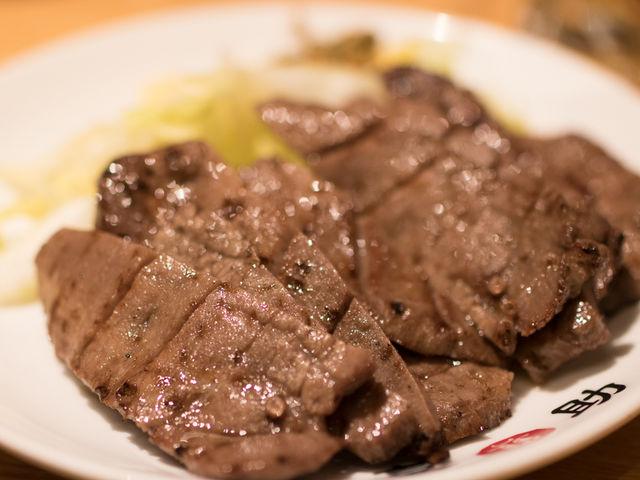 1.5人前_味の牛たん 喜助 東京駅 キッチンストリート