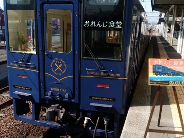川内駅で、これから乗車_肥薩おれんじ鉄道水俣駅