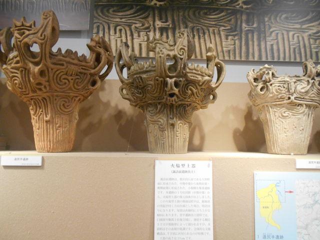 本物は歴史民俗資料館にあります。_津南町農と縄文の体験実習館「なじょもん」