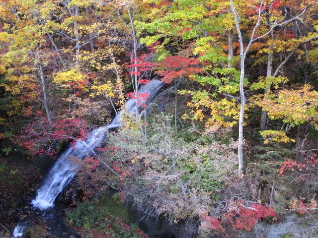 美しい流れ_三段の滝
